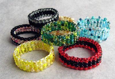 Bijoux en perles de rocaille facile - Comment faire un collier en perle ...